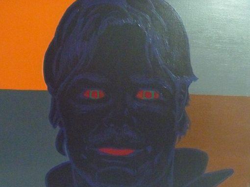 Coleccion, Retrato a color DC, acrilico sobre lienzo, 61×50