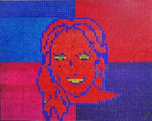 Retrato a color pixelado LDL - 2.0